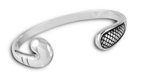 Lhb 20combination Field Hockey And Lacrosse Cuff Sterling Silver